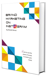 Brand marketing on Instagram -Rishabh bansal book cover design