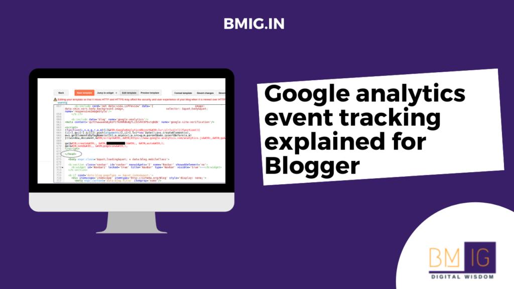 Google analytics event tracking explained