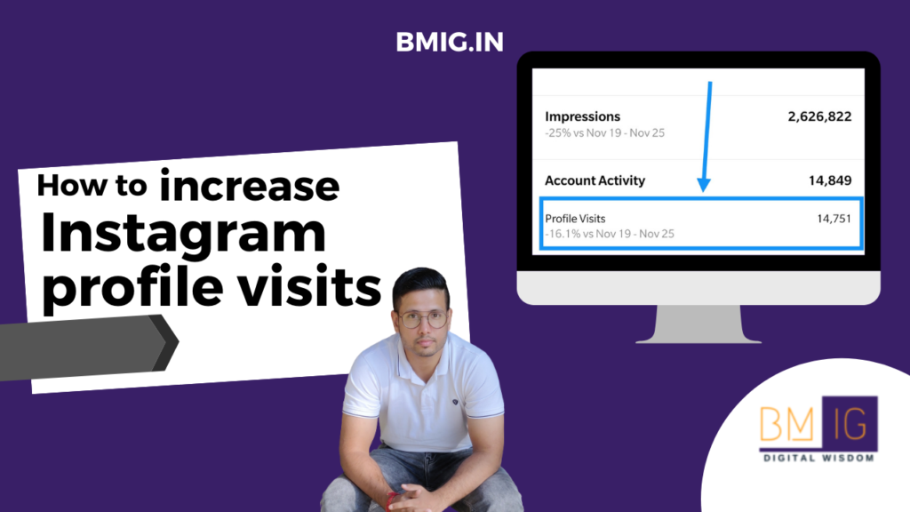Increase Instagram profile visits by RISHABH BANSAL